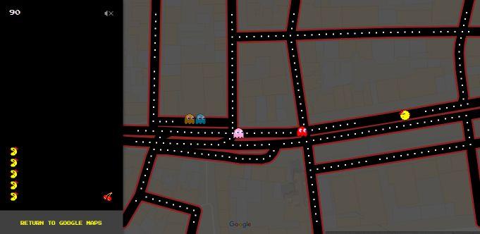 Pacman_Google_Maps