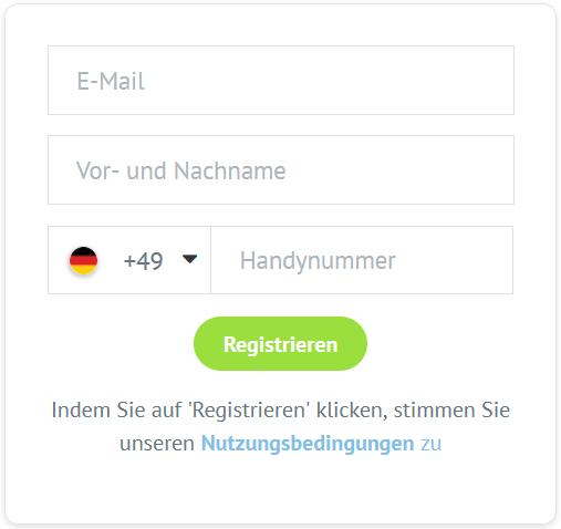 Bondora Gutschein Registrierung